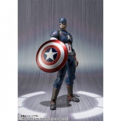 CAPTAIN AMERICA - The Avengers - SH Figuarts. Promotion Check