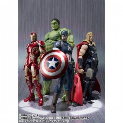 PACK HULK & THOR & IRON MAN & CAPTAIN AMERICA - The Avengers - SH Figuarts. Promotion Check